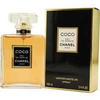 Coco by Chanel for Women, Eau De Parfum Spray, 3.4 Ounce