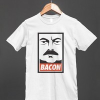 Ron Swanson likes bacon