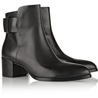 Alexander Wang Anja leather ankle boots – 45% at THE OUTNET.COM