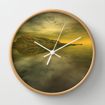 Point Break Wall Clock by Texnotropio | Society6
