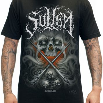 """Men's """"Duffy"""" Tee by Sullen Clothing (Black)"""