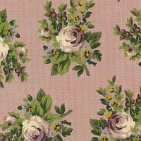 Reproduction Fabrics - mid 19th century, 1825-1865 > fabric line: Sally Rose