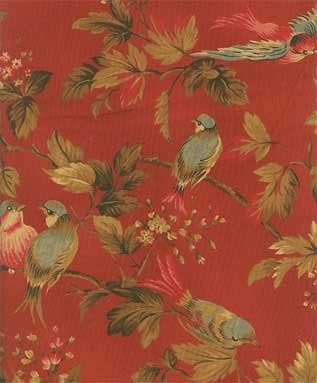 Reproduction Fabrics - mid 19th century, 1825-1865 &gt; fabric line: Dominique II