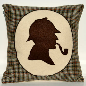 Sherlock Holmes Victorian Style Shadow by DancingArethusa on Etsy