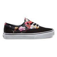 Vans Floral Era (black/true white)