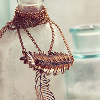 Feather & Gloom Necklace