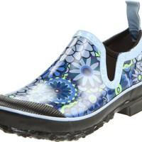 Bogs Women`s Rue Ambrosia Waterproof Shoe,Blue,8 M US