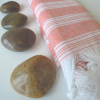 Turkish bath towel peshtemal spring home makeover cottage Bathroom Home bath spa yoga beach home fashion spring fashion pastel fashion
