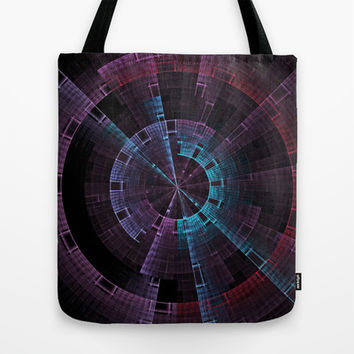 Tech Time Wheel Tote Bag by 319media