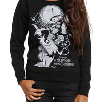The Nightmare Before Christmas Reversible Spooky Girls Pullover Top