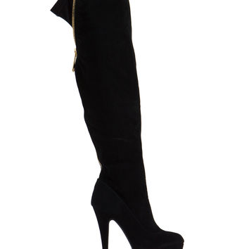 Zip Into It Over-The-Knee Boots