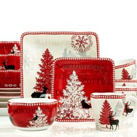 222 Fifth Northwood Cottage 16-Piece Set