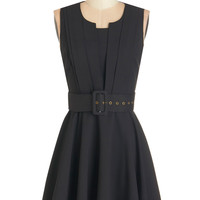 ModCloth Mid-length A-line Pleats Please Me Dress