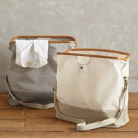 Canvas Hamper Tote by Magus