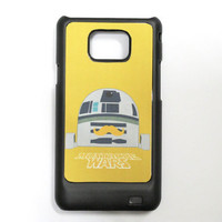 Mustache war samsung galaxy s2 case ,samsung galaxy s2 cover, i9100 case, i9100 cover