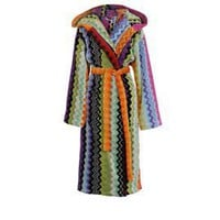 Missoni Home Giacomo Hooded Bath Robe