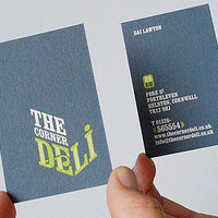 Your Business Card Usually Goes Before U.