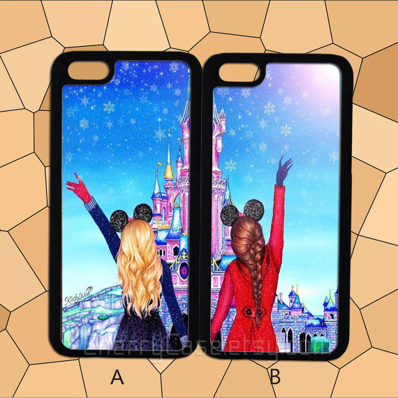 Case Design best buy phone cases galaxy s4 : Best friends couple case,iPhone 6 from CherryCase on Etsy : High