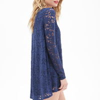 LOVE 21 Lace Babydoll Dress