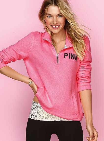 Half-zip Pullover - Victoria&#x27;s Secret Pink - Victoria&#x27;s Secret