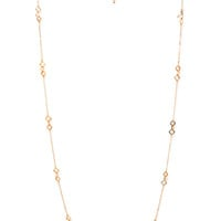 Geo Cutout Chain Necklace