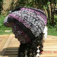 Crocheted Hat - The Boyfriend Hat -Unisex Hat - Fall, Winter Accessories
