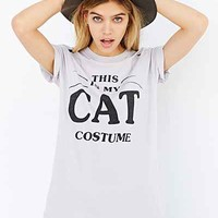 This Is My Cat Costume Tee - Urban Outfitters