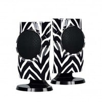 Personal Speakers - Black Zebra