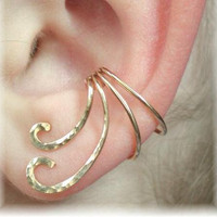 Ear Cuff - The Curl - Gold Filled or Sterling Silver