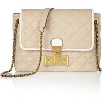 Marc Jacobs|The Large Single quilted leather shoulder bag|NET-A-PORTER.COM