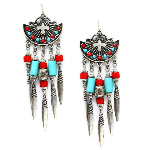 Pree Brulee - Pocahontas Earrings