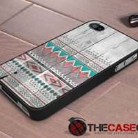 iPhone case Aztec Tribal wood pattern iPhone 4s and iPhone 4 Cover