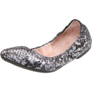 Bloch London Women`s Belen Ballet Flat,Black,38.5 EU/8.5 M US