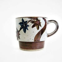 Vintage Whimsical Floral Mug