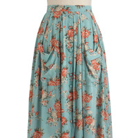 Sweet Tea Time Skirt | Mod Retro Vintage Skirts | ModCloth.com