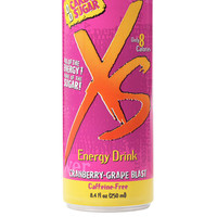 XS® Energy Drink Caffeine-Free Cranberry-Grape Blast