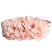 dreamweaver floral crochet elastic belt - $15.99 : ShopRuche.com, Vintage Inspired Clothing, Affordable Clothes, Eco friendly Fashion