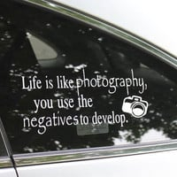 Photography Car Decal