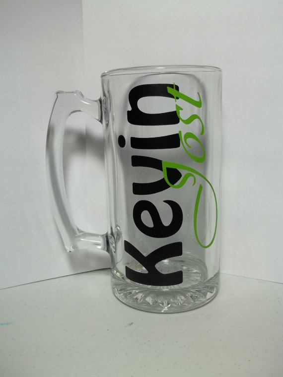 Personalized Men's Beer Mug