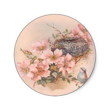 Spring Song Stickers from Zazzle.com