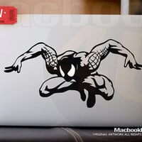 "Spider Man  - LIMITED EDITION macbook decal / sticker ( for 11"" 13"" 15"" 17""  or any Laptop) K004"