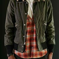 Monitaly Oilcloth Flight Jacket - Urban Outfitters