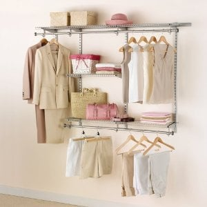 Rubbermaid Configurations 3-to-6-Foot Classic Custom Closet Kit