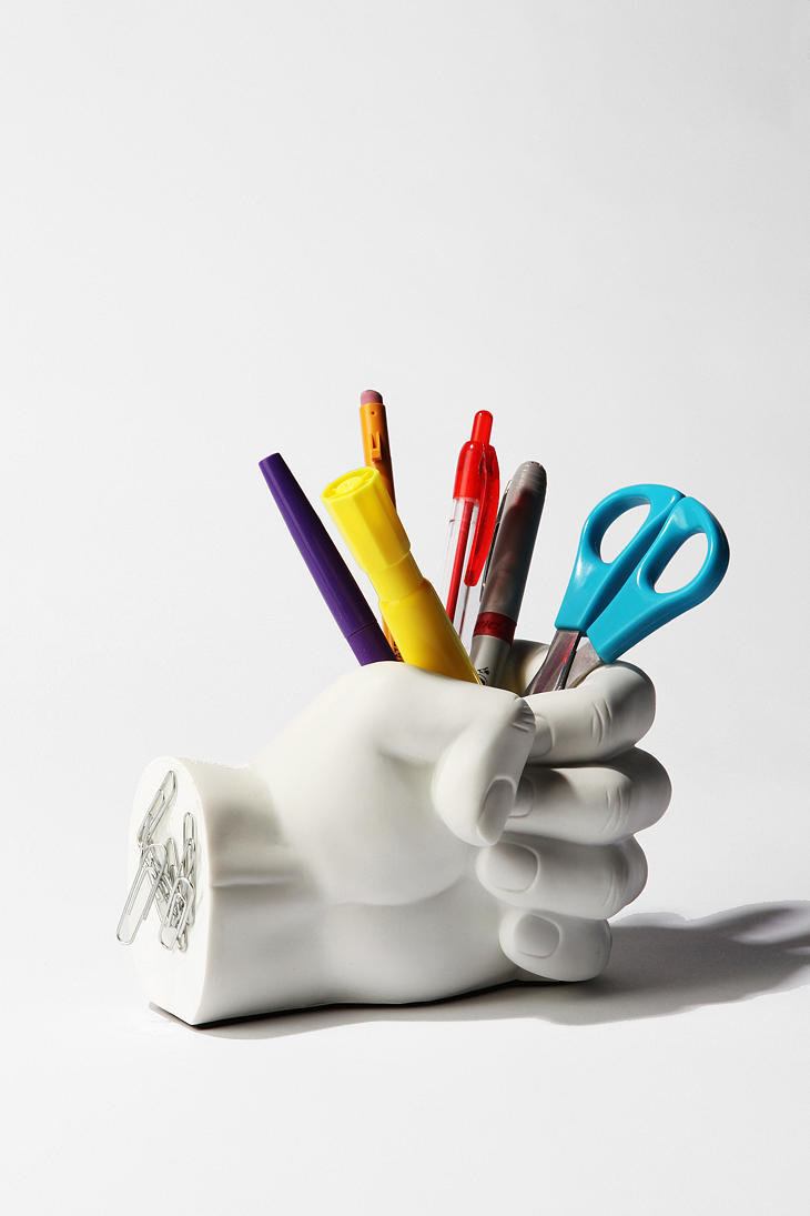 Hand Pen Holder