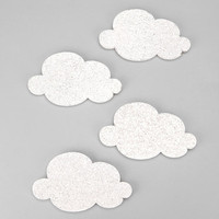 Mini Cloud Cork-Board Set- Assorted One