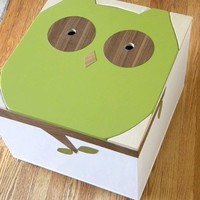 The Noah Owl - Mod Toy Box - Mod Mom Furniture