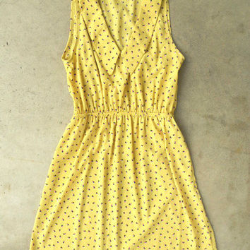 Flowers in the Sun Dress [3079] - $36.00 : Vintage Inspired Clothing & Affordable Summer Dresses, deloom | Modern. Vintage. Crafted.