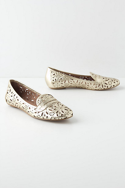 Lasered Aster Loafers