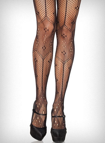 Parisian Beauty Netted Tights