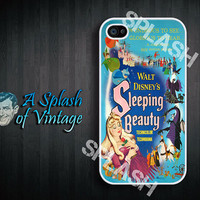 iPhone case Vintage Sleeping Beauty poster iPhone 4s, iPhone 4 Cover